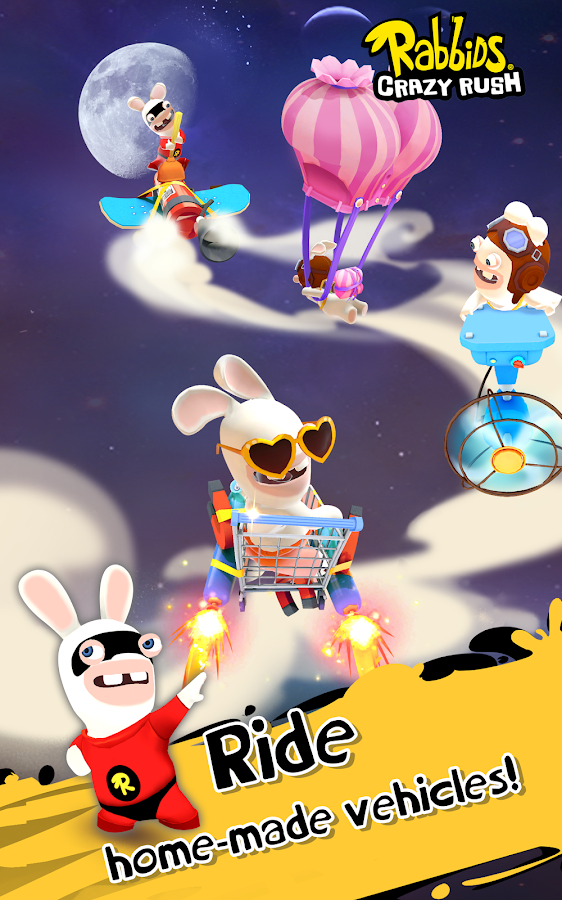 Rabbids Crazy Rush Screenshot 8