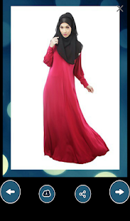 Abaya and Scarf Designs- screenshot
