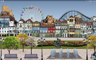 Screenshot of River Park Live Wallpaper