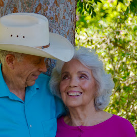 Octogenarians who still have that zing by Kathleen Koehlmoos - People Couples ( happy couples, seniors, happy seniors, smiling seniors, octagenarians, successful couples, happily married for more than 5 decades )