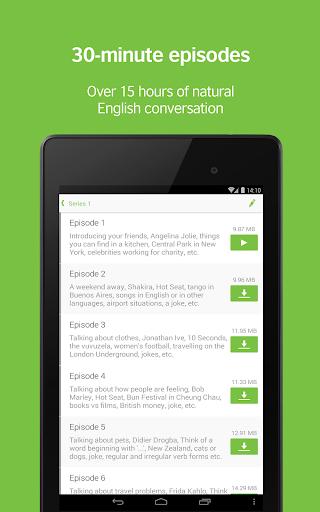 LearnEnglish Podcasts - Free English listening screenshot 7