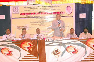 Inaugural Ceremony OF CSIR Sponsored National Level Symposium on Number Theory