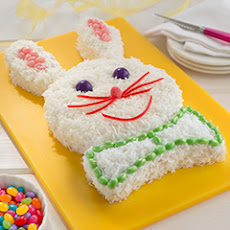 Easiest Ever Easter Bunny Cake
