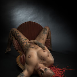 Rock yourself by Reto Heiz - Nudes & Boudoir Artistic Nude ( erotic, sexy, nude, nudeart, hot, redhair )