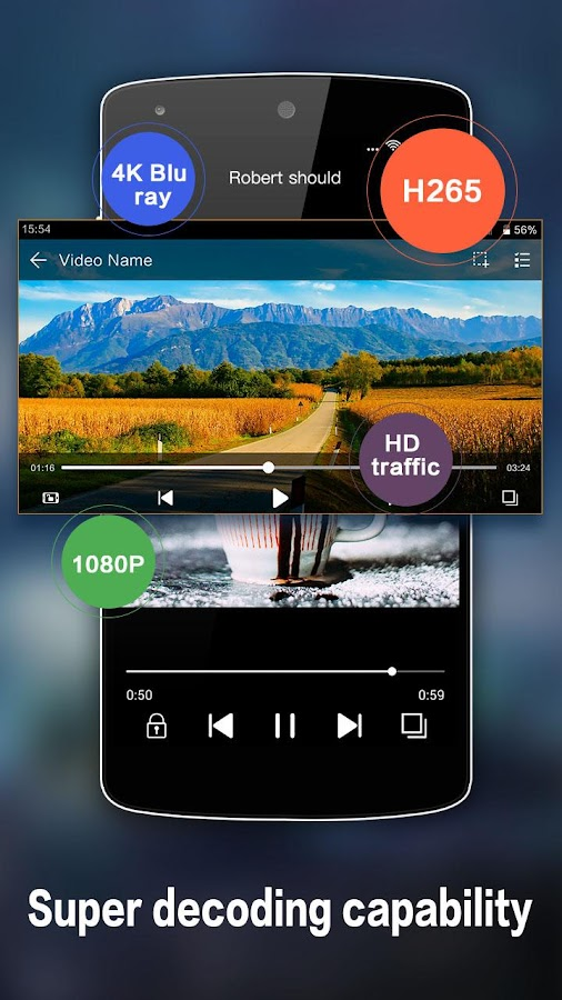HD Video Player – Screenshot