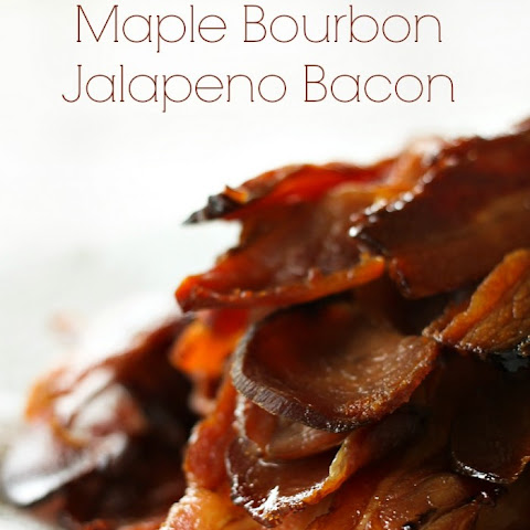 Homemade Maple Bourbon Jalapeno Bacon