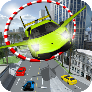 New Turbo Flying 3D Car for PC-Windows 7,8,10 and Mac