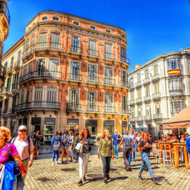 streetlife by Betty Taylor - People Street & Candids ( towns, malaga., cityscape, travel, people )
