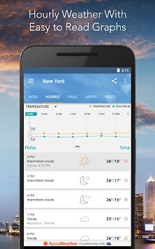 AccuWeather Platinum APK screenshot thumbnail 6