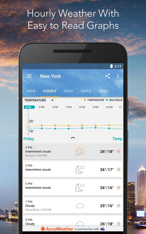 AccuWeather Platinum Screenshot 5