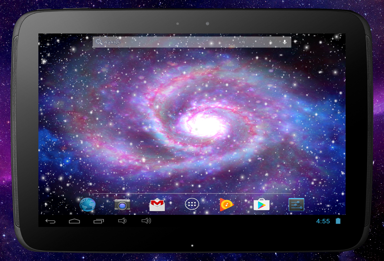 Galaxy Pro Live Wallpaper Screenshot 13