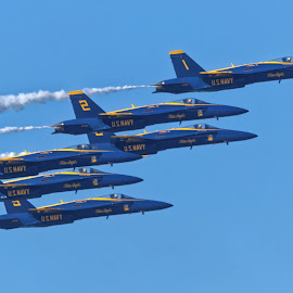 Blue Angels 7721 by Raphael RaCcoon - Transportation Airplanes