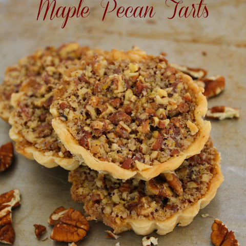 Maple Pecan Tarts (Without Corn Syrup)