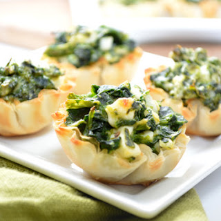 Spinach and Feta Phyllo Cups