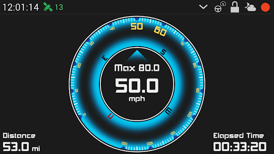 GPS HUD Speedometer Plus- screenshot thumbnail
