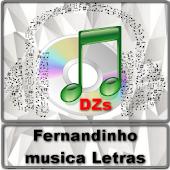 Fernandinho musica Letras APK for Lenovo