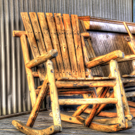 Rocking Chair by Jackie Eatinger - Artistic Objects Furniture