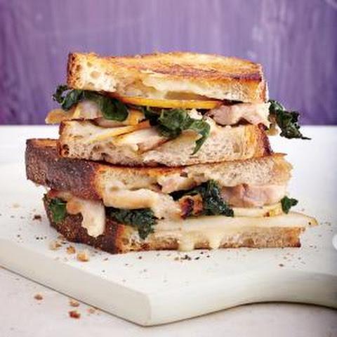 ... chicken sausage brie panini just a taste multigrain bread arugula brie