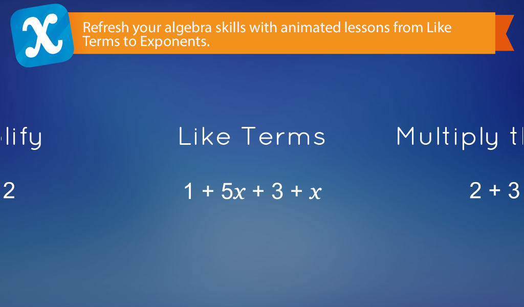 Algebra Touch Screenshot 0