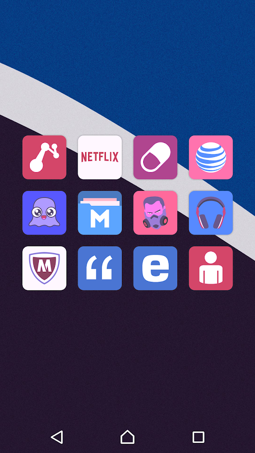 Teron - Icon Pack Screenshot 6