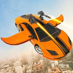 Flying Robot Car Simulator For PC / Windows 7/8/10 / Mac – Free Download