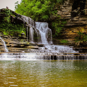 by Christine Weaver-Cimala - Landscapes Waterscapes ( water, vacation, park, waterfall, tennessee,  )
