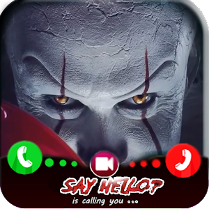 Download free Fake Call from vedio Pennywise killer for PC on Windows and Mac