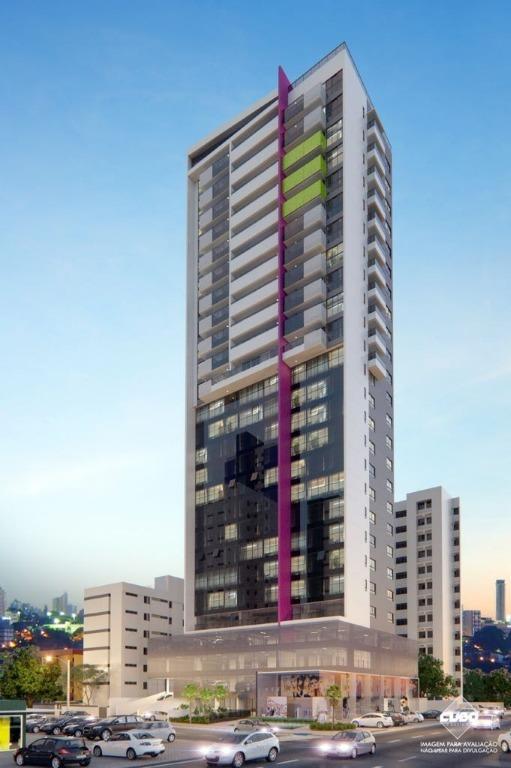 Flat com 1 dormitório à venda, 27 m² por R$ 165.000 - Tambaú - João Pessoa/PB