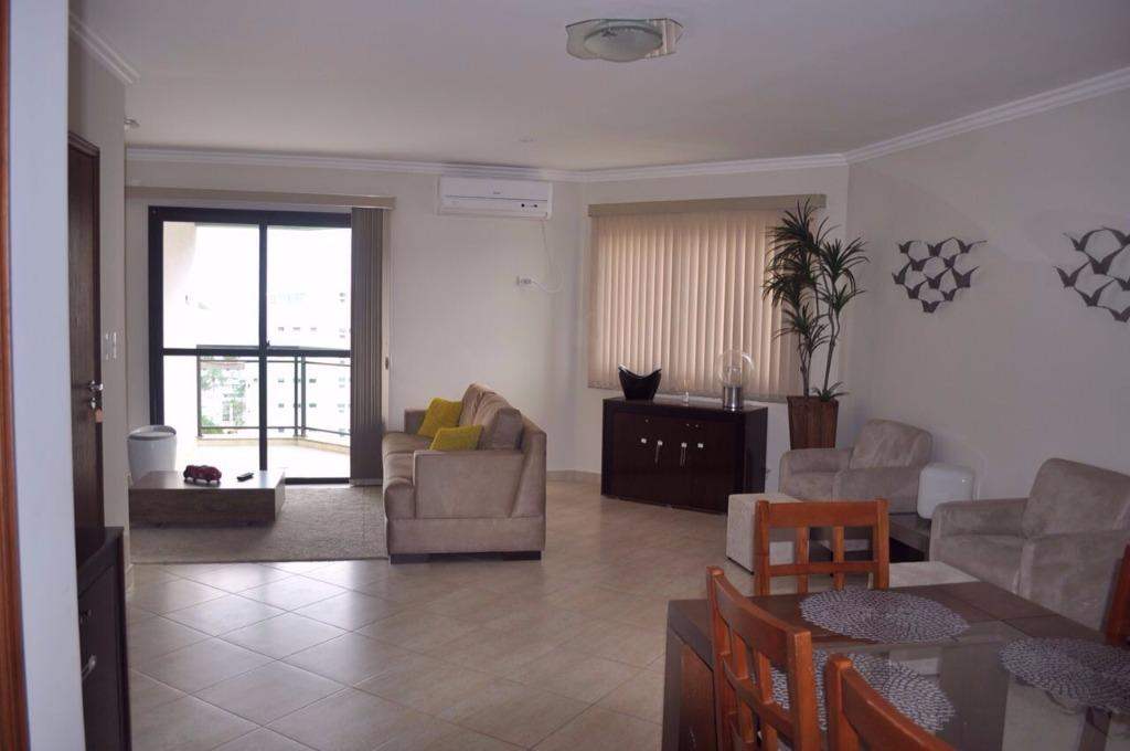 Enseada Guarujá 106m 3 dorm 1 suite 2 vagas mobiliado região dos restaurantes