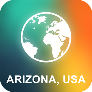 Arizona, USA Offline Map