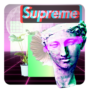 Aesthetic Photo Maker – Glitch Vaporwave Stickers For PC / Windows 7/8/10 / Mac – Free Download