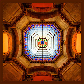 Rotunda  by James Eickman - Abstract Patterns