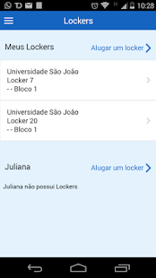 Locker Armários - screenshot
