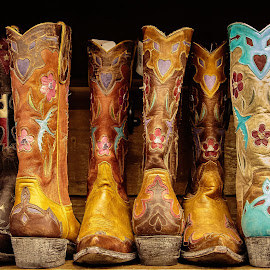Allen Boots by David Long - Artistic Objects Clothing & Accessories ( austin, allen boots, texas )