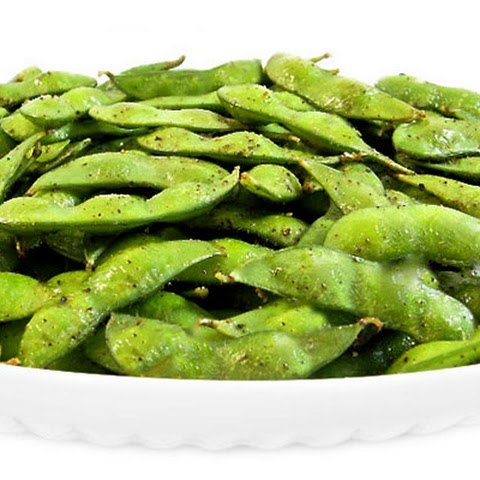Roasted Edamame…Perfect for an Light Appetizer or Snack
