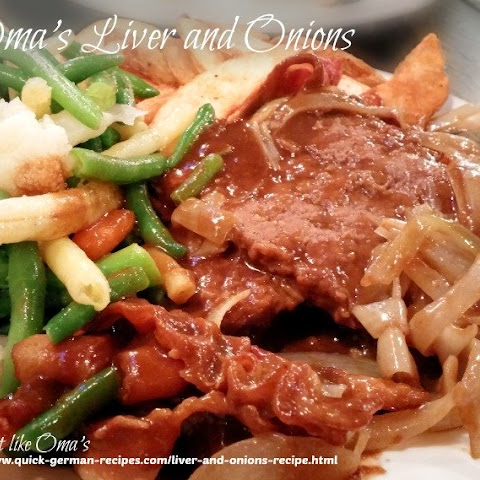 Oma's Calves' Liver and Onions