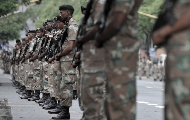 SANDF soldiers. Picture: REUTERS