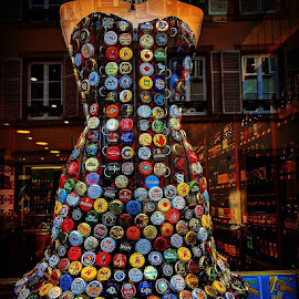 Bottle Top Wear by Stephen Lang - City,  Street & Park  Markets & Shops