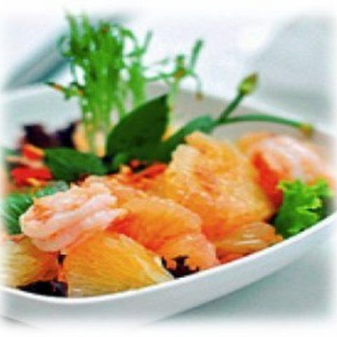 Low Carb Thai Shrimp & Orange Salad