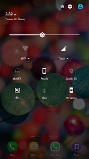Transparency theme CM13/12.x - screenshot