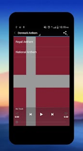 Denmark National Anthem - screenshot
