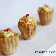 Nyonya Kuih Pie Tee Recipe (Top Hats)