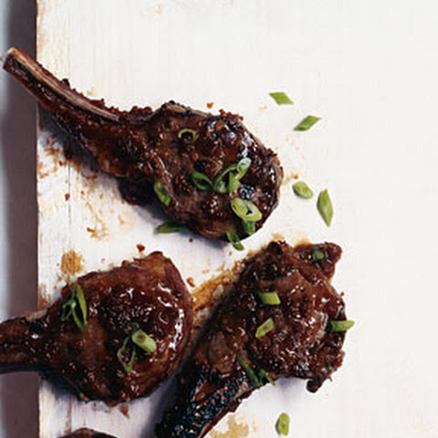 Garlic And Rosemary Lamb Chops With Honey Cider Glaze Recipes ...