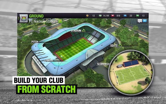 Top Eleven Be A Soccer Manager APK screenshot thumbnail 8