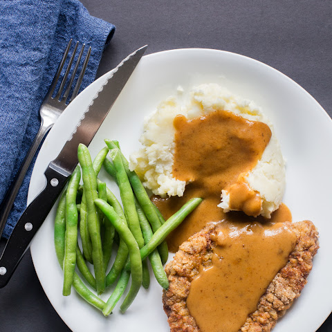 Chicken Fried Steak (Gluten-free, Paleo, Perfect Health Diet, Whole30-friendly)
