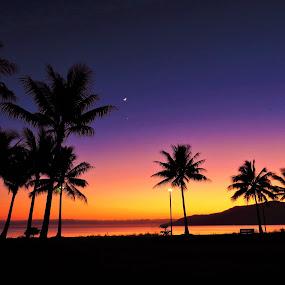 Sunrise in the Tropics by Kinga Urban - Landscapes Sunsets & Sunrises
