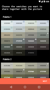 Graphice - color palettes of pictures & wallpapers Screenshot