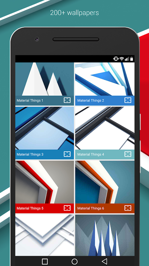 Material Things Colorful Theme Screenshot 2