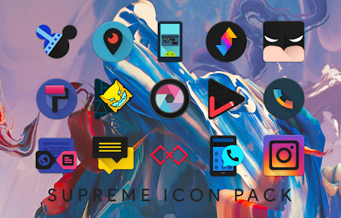 Supreme Icon Pack Screenshot