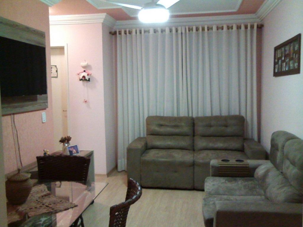 Apartamento com 2 dormitórios à venda, R$ 160.000 - Parque Valença I - Campinas/SP